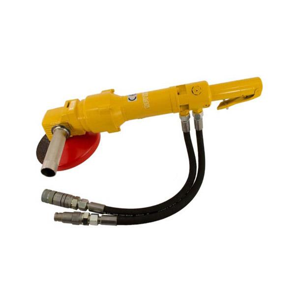 Smerigliatrice idraulica angolare
